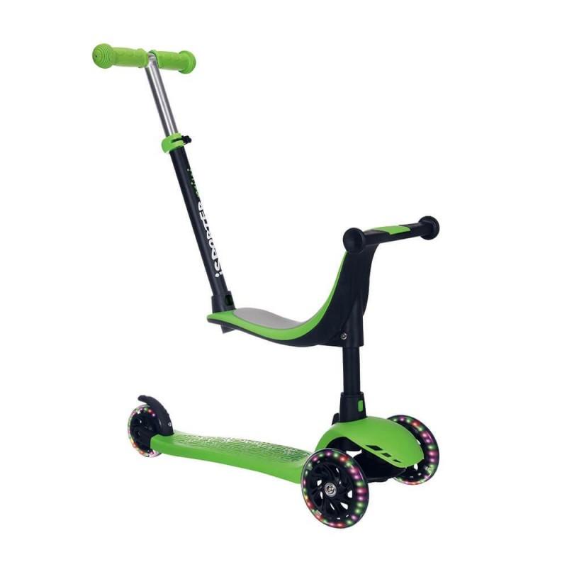 Παιδικό Πατίνι Bebe Stars iSporter Plus Green