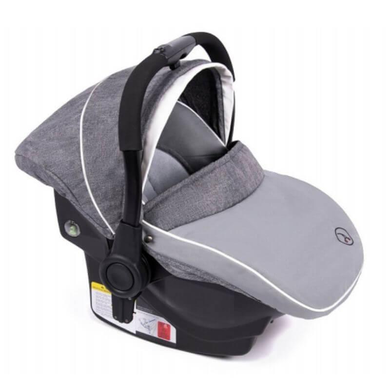 Κάθισμα Αυτοκινήτου Coletto 0-13kg με Βάση Isofix Grey