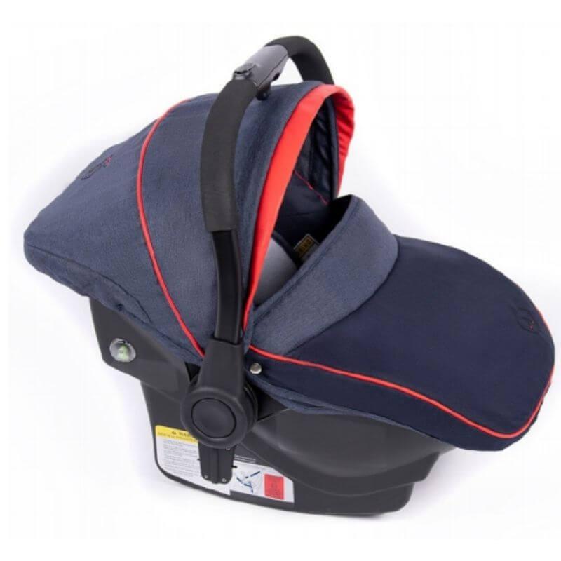 Κάθισμα Αυτοκινήτου Coletto 0-13kg με Βάση Isofix Navy Red