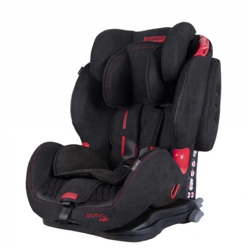 Κάθισμα Aυτοκινήτου Coletto Sportivo Isofix 9-36kg Black