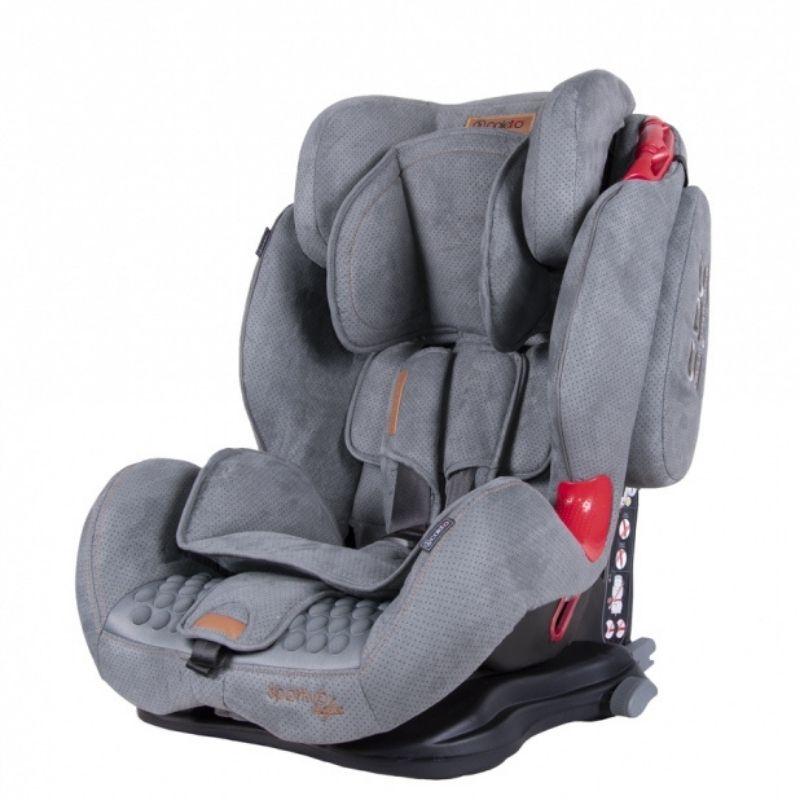 Κάθισμα Aυτοκινήτου Coletto Sportivo Isofix 9-36kg Grey