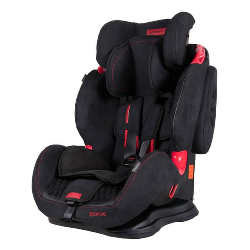 Κάθισμα Aυτοκινήτου Coletto Sportivo Isofix 9-36kg Black New