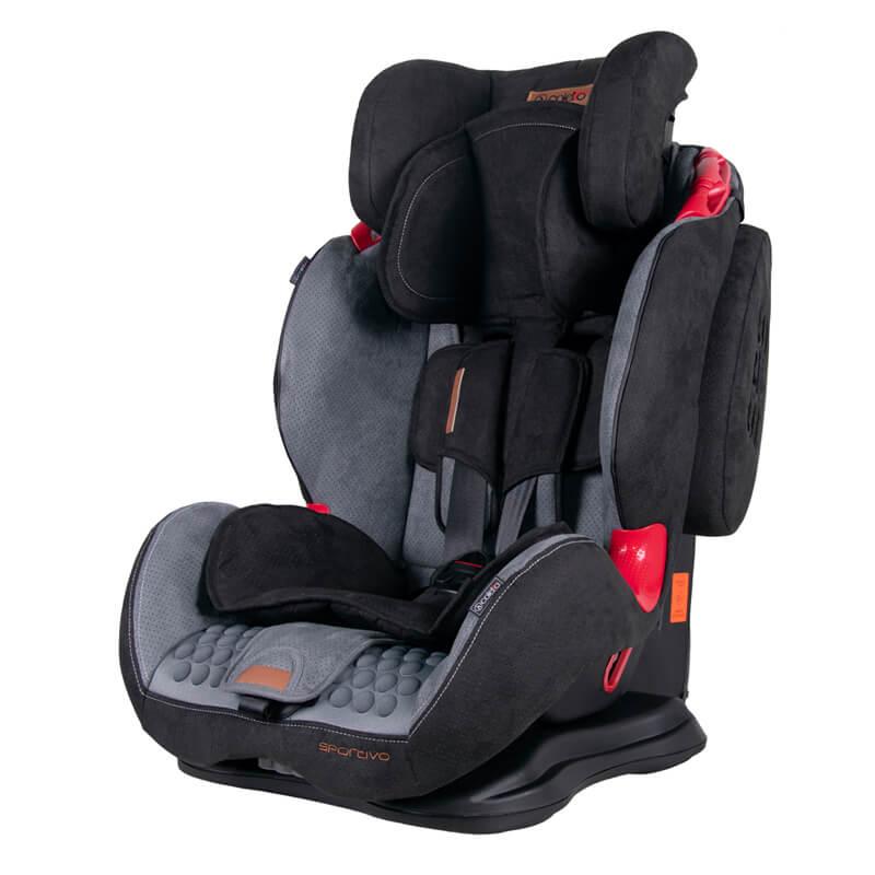 Κάθισμα Aυτοκινήτου Coletto Sportivo Isofix 9-36kg Black Grey