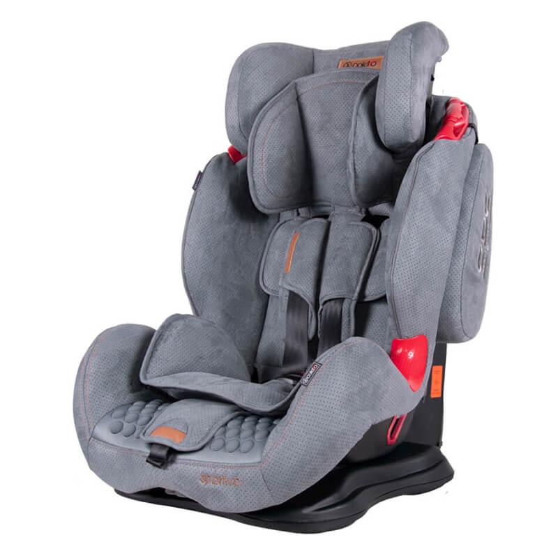 Κάθισμα Aυτοκινήτου Coletto Sportivo Isofix 9-36kg Grey New