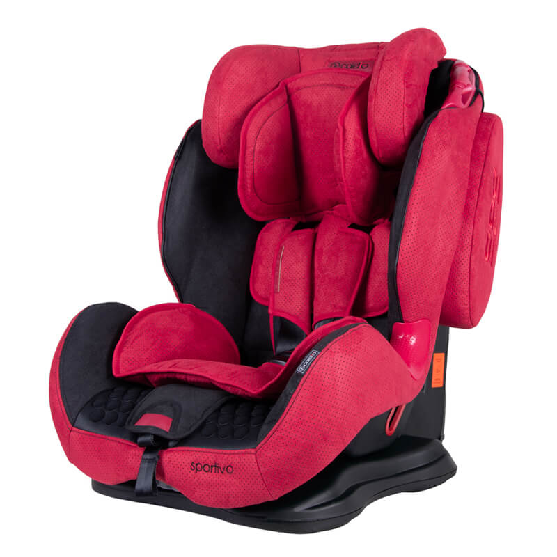Κάθισμα Aυτοκινήτου Coletto Sportivo Isofix 9-36kg Red