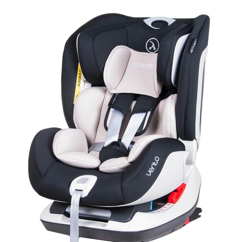 Κάθισμα αυτοκινήτου Coletto Vento Isofix 0-25kg Black