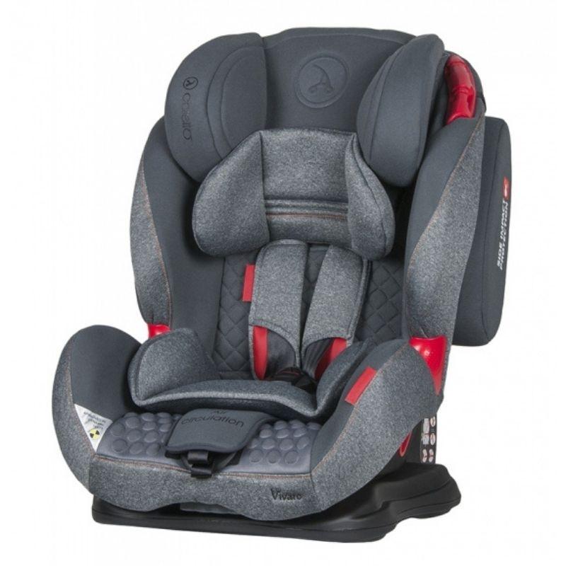Κάθισμα Aυτοκινήτου Coletto Vivaro 9-36kg Grey