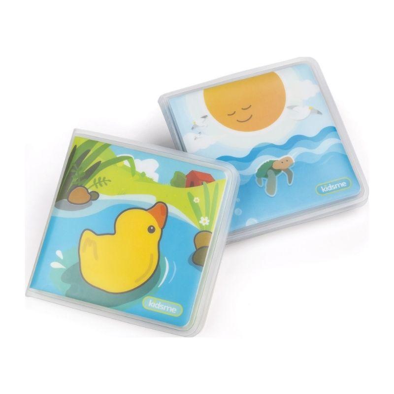 Εκπαιδευτικό Βιβλίο Μπάνιου Kidsme Squeaky Bath Book