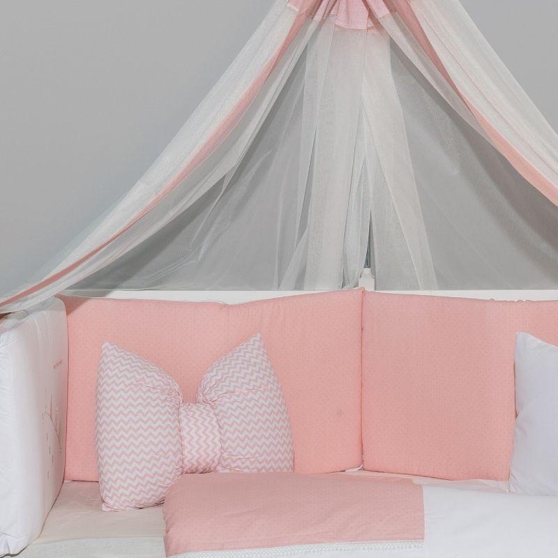 Προίκα Κρεβατιού Abo Carot 70x140 9 τμχ. Pink