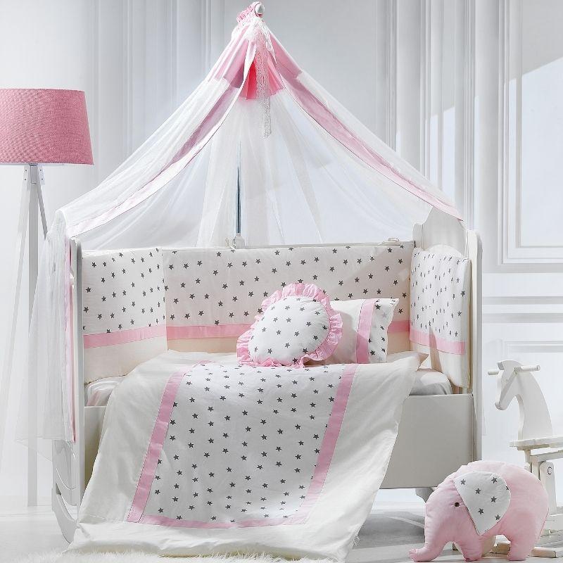 Προίκα Κρεβατιού Abo Elephant 70x140 9 τμχ. Pink