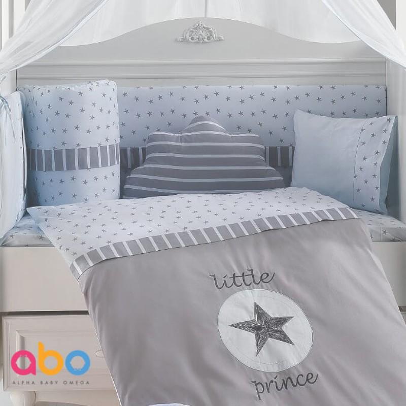 Προίκα Κρεβατιού Abo Little Prince 70x140 9 τμχ. Blue