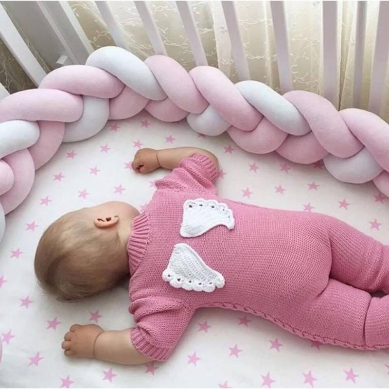Βρεφική πάντα πλεξούδα Baby Star Sugar Family Pink