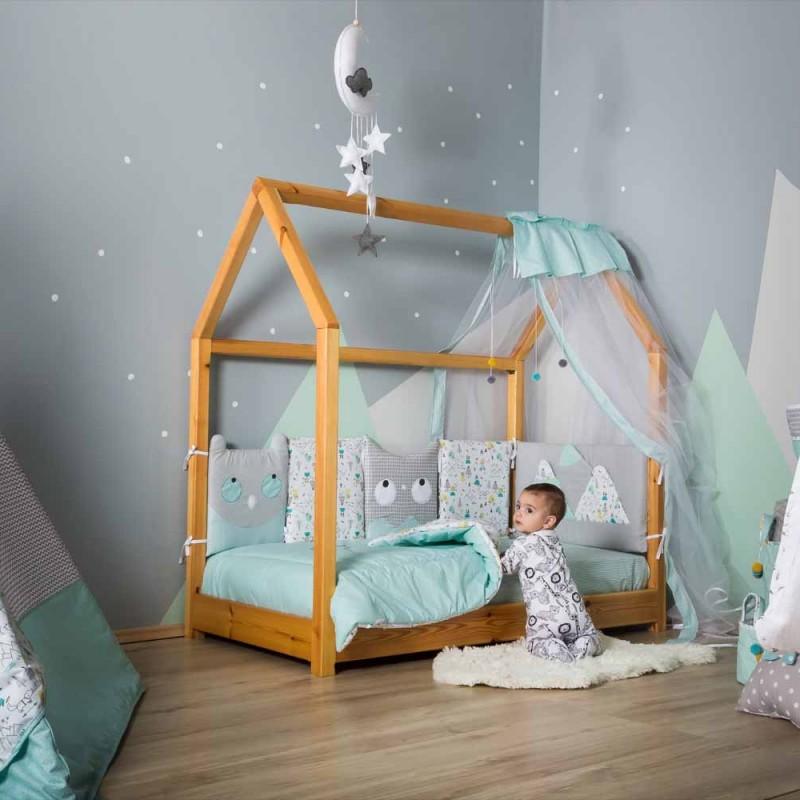 Βρεφική προίκα κρεβατιού Baby Star Nordic the Bear