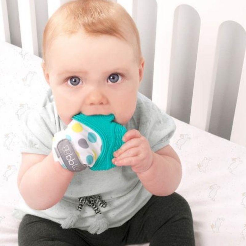 Γάντι Οδοντοφυΐας bblüv Gluv Πράσινο 3+ μηνών