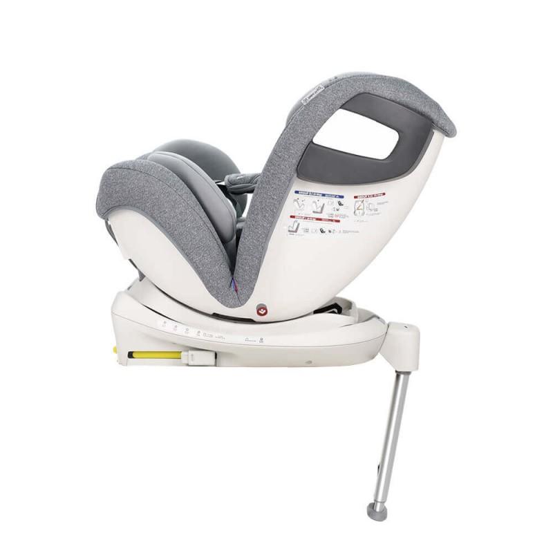 Κάθισμα Αυτοκινήτου Bebe Stars Apex 360° Isofix 0-36kg Grey