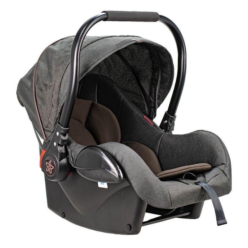 Κάθισμα Αυτοκινήτου Bebe Stars Baby Plus Graphite