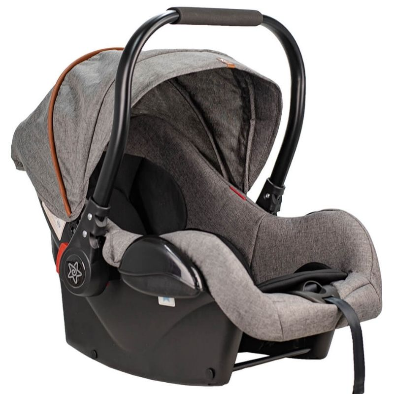 Κάθισμα Αυτοκινήτου Bebe Stars Baby Plus Grey