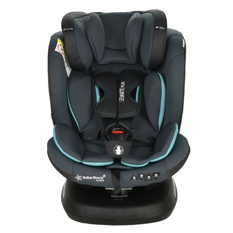 Κάθισμα Αυτοκινήτου Bebe Stars Levante Plus Isofix 360° Petrol