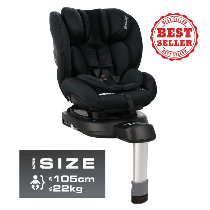 Κάθισμα Αυτοκινήτου Bebe Stars Megan i-Size Black