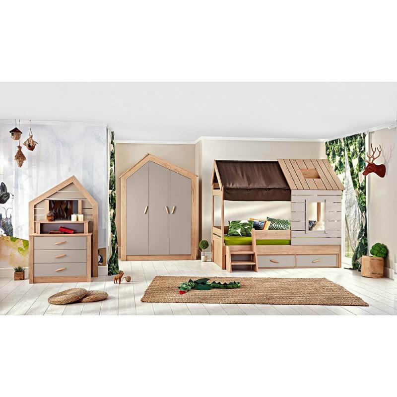 Παιδικό κρεβάτι Bebe Stars My House