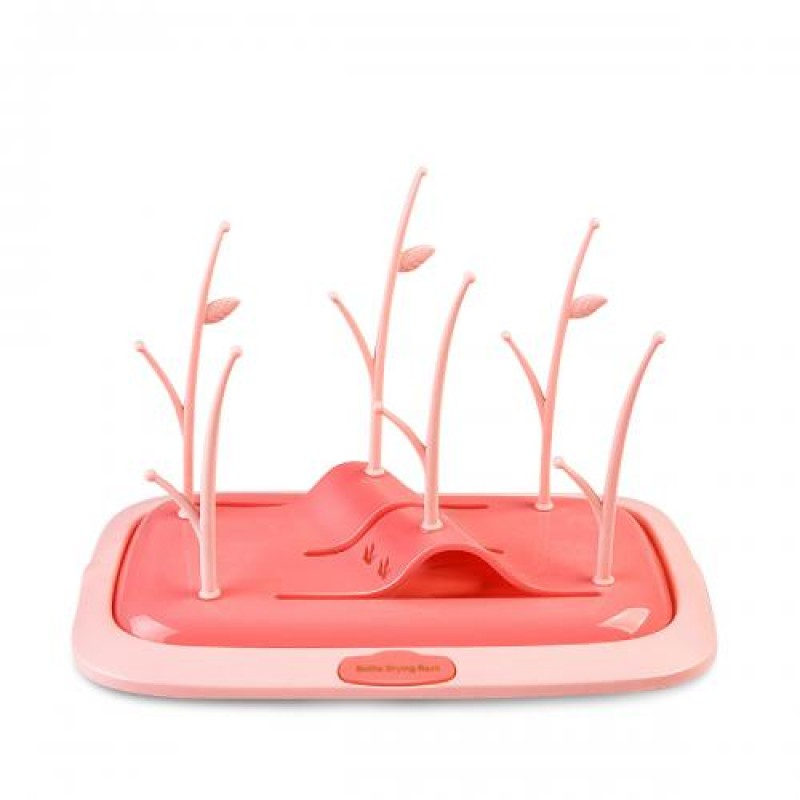 Στεγνωτήρας Μπιμπερών & Θηλών Cangaroo Bottle Rank Pink