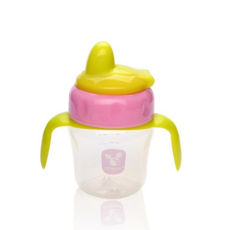 Εκπαιδευτικό Ποτηράκι με λαβές Cangaroo TC5007 150ml Pink