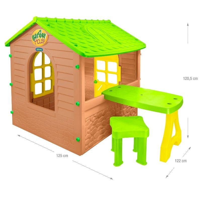 Σπιτάκι Κήπου Mochtoys Garden House with table 12240