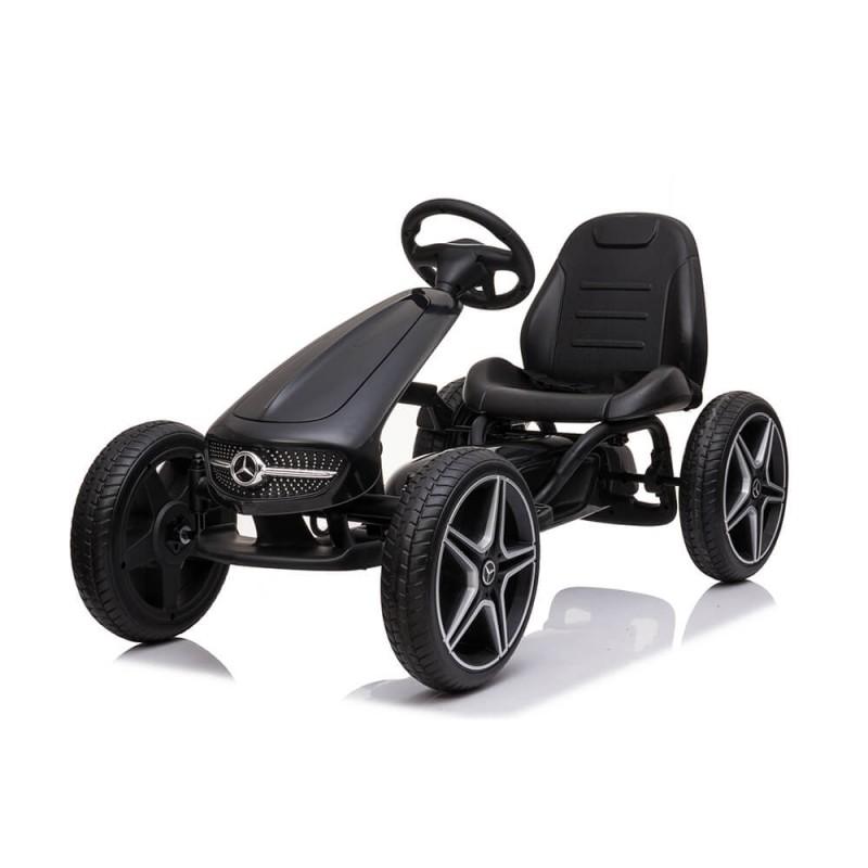 Παιδικό Κάρτ Byox Go Kart Mercedes-Benz EVA Black