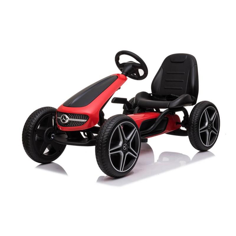Παιδικό Κάρτ Byox Go Kart Mercedes-Benz EVA Red