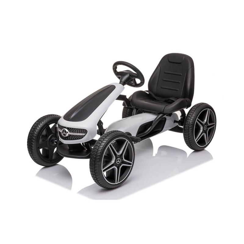 Παιδικό Κάρτ Byox Go Kart Mercedes-Benz EVA White