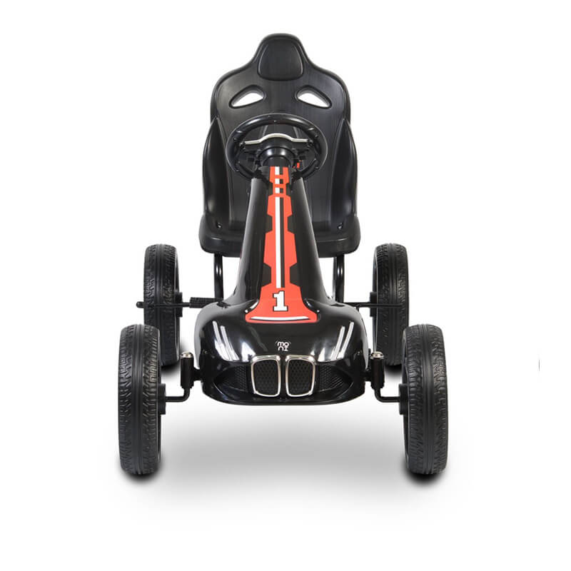 Παιδικό αυτοκινητάκι Moni Go Cart Eva Wheels Monte Carlo Black