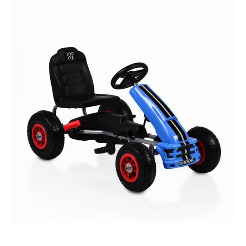 Παιδικό αυτοκινητάκι Moni Go Cart Air Wheels Nevada Blue