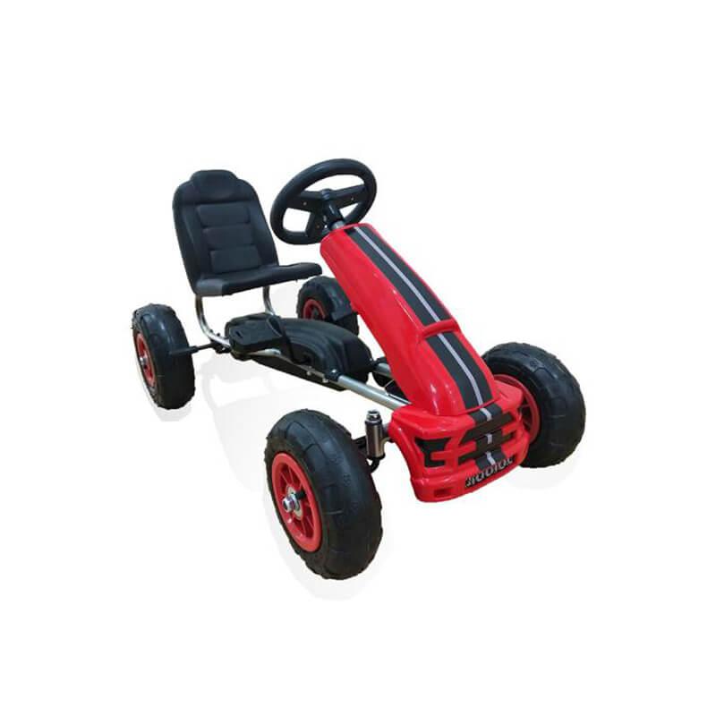 Παιδικό αυτοκινητάκι Moni Go Cart Air Wheels Nevada Red