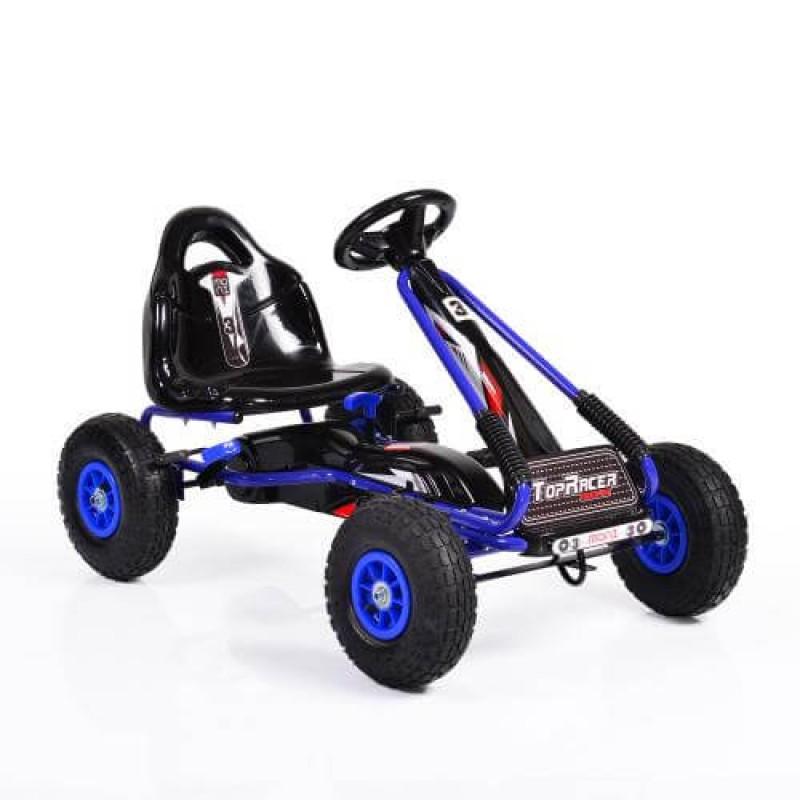 Παιδικό Αυτοκινητάκι Byox Go Kart με πετάλια Air Wheels Top Racer Blue