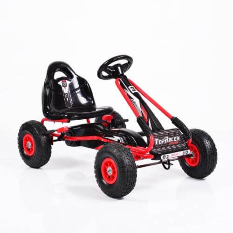 Παιδικό Αυτοκινητάκι Byox Go Kart με πετάλια Air Wheels Top Racer Red