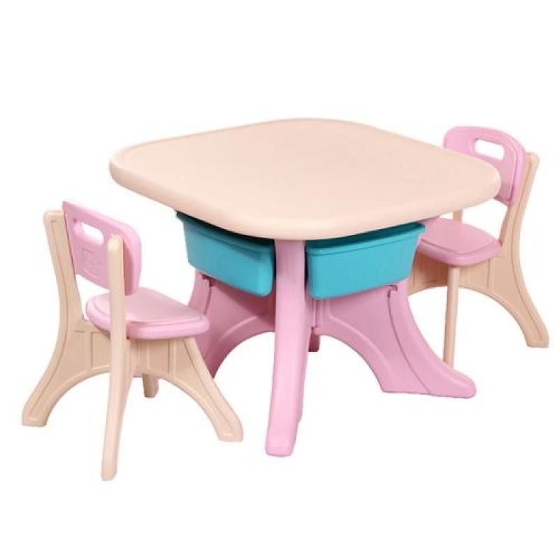 Τραπεζάκι με καρέκλες Moni Comfort 18109 Pink