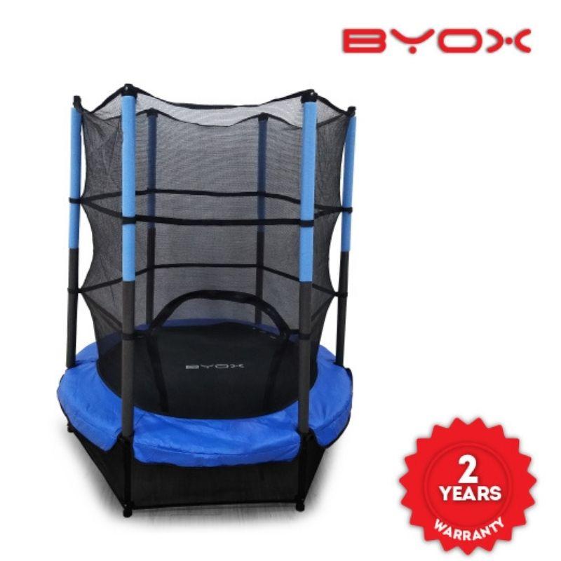 Τραμπολίνο Byox Trampoline Inner Net 55in 140cm Blue