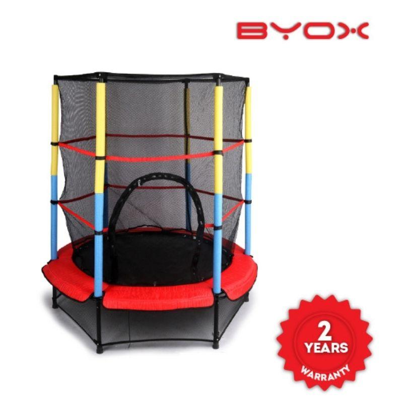 Τραμπολίνο Byox Trampoline Inner Net 55in 140cm Red