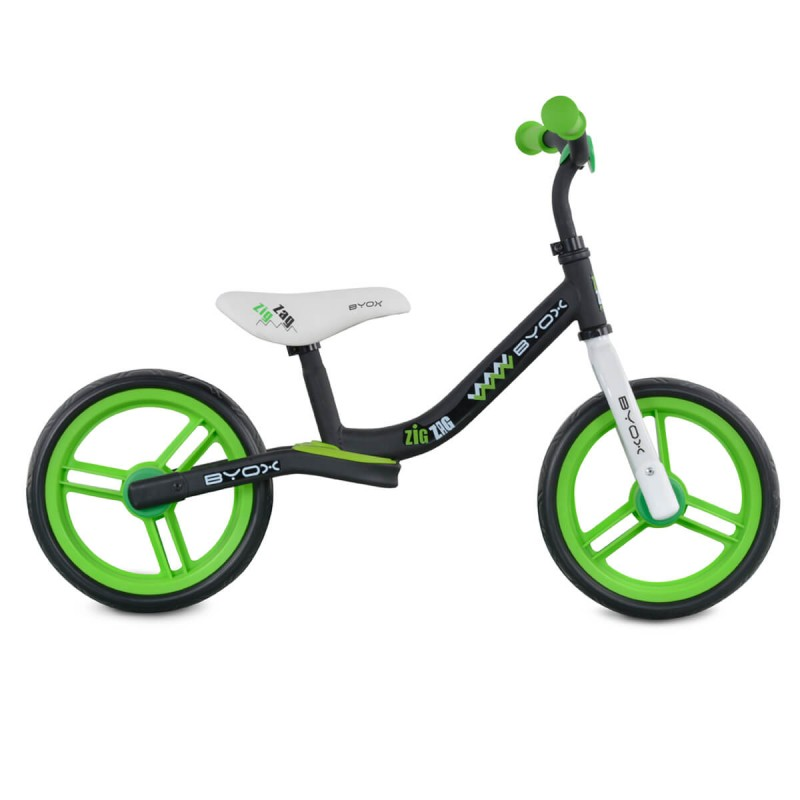 Παιδικό Ποδήλατο Ισορροπίας Byox Zig Zag Green