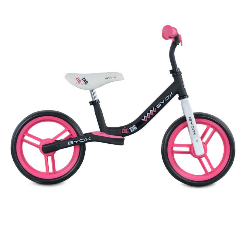 Παιδικό Ποδήλατο Ισορροπίας Byox Zig Zag Pink