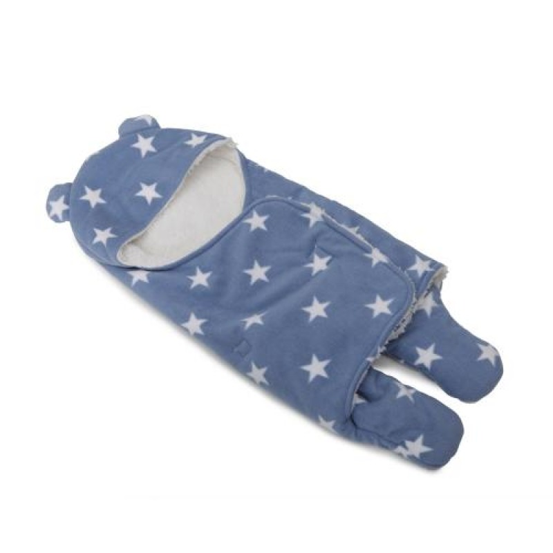 Βρεφική Κουβέρτα-Υπνόσακος Cangaroo Cosy Fleece Blue