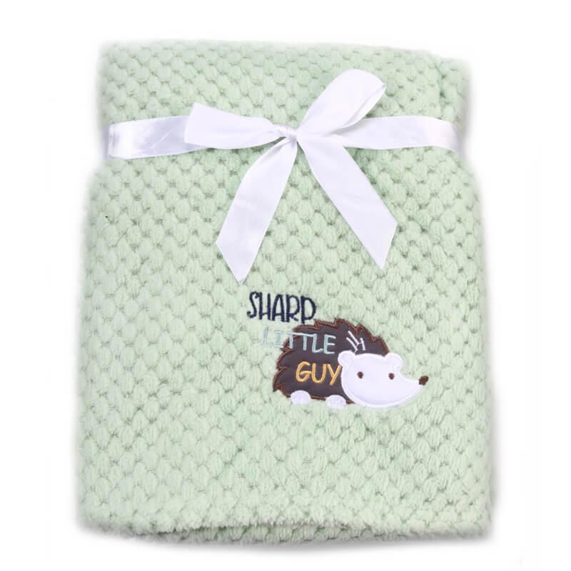 Κουβέρτα αγκαλιάς Cangaroo Fleece Freya 80x110cm Green