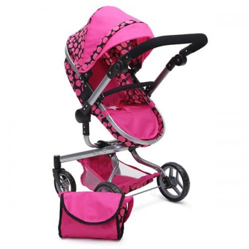 Καρότσι για κούκλες με τσάντα Moni Bella 9695