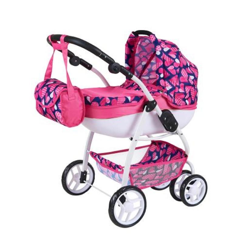 Καρότσι για κούκλες με τσάντα Moni Polly Pram 9662