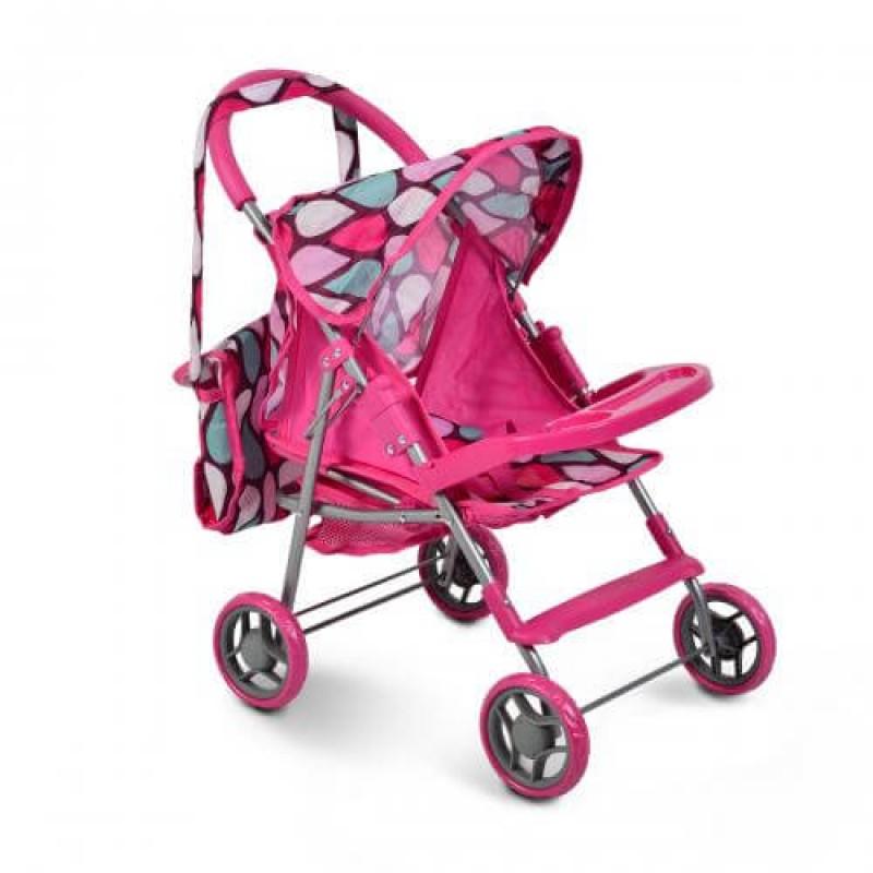 Καρότσι για κούκλες Moni Mini 9617 Pink