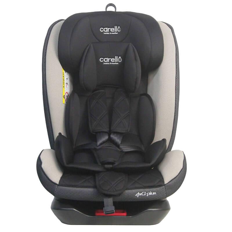 Κάθισμα αυτοκινήτου Carello 4XG Plus Isofix 0-36kg Beige