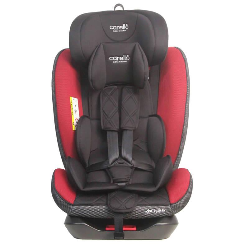 Κάθισμα αυτοκινήτου Carello 4XG Plus Isofix 0-36kg Red