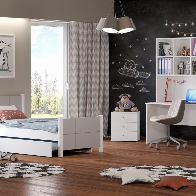 Κρεβάτι Μονό Casakids Cosy 100x200 cm ή 100x214 cm