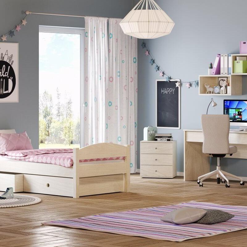 Κρεβάτι Μονό Casakids Loft 100x200 ή 100x214 cm
