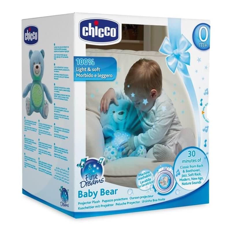 Αρκούδος Chicco ''Γλυκιά Αγκαλιά'' Μπλε